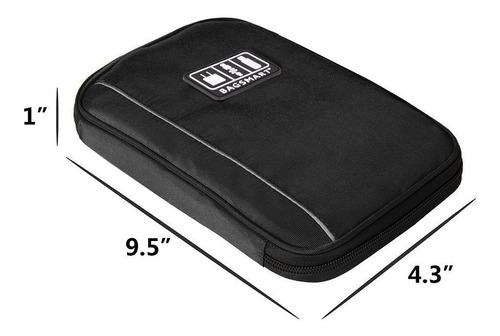 maleta organizadora de accesorios electrónicos
