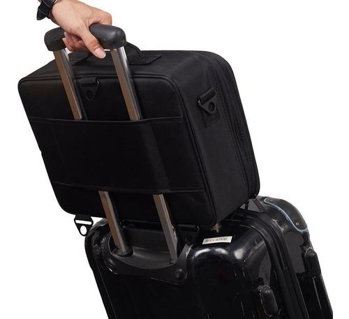 maleta organizadora fotográfica trip pro nikon canon sony fujifilm com divisórias removíveis
