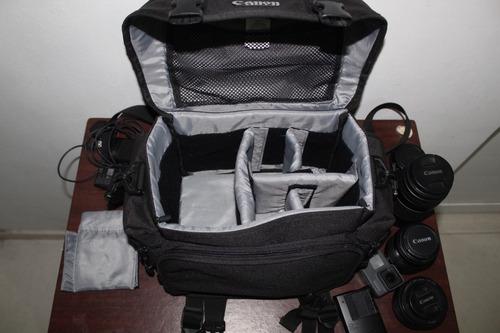 maleta para cámara fotográfica canon