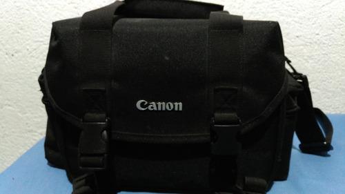 maleta para cámara, marca canon