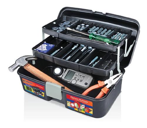 maleta para ferramentas de pesca multiuso