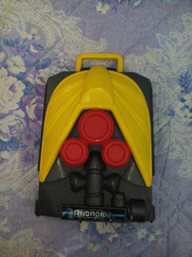 maleta para figuras androidz