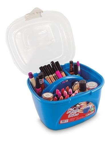 maleta para maquiagem, bijuterias, ferramentas e acessórios
