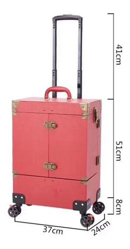 maleta para maquillaje y manicure 13037 negra