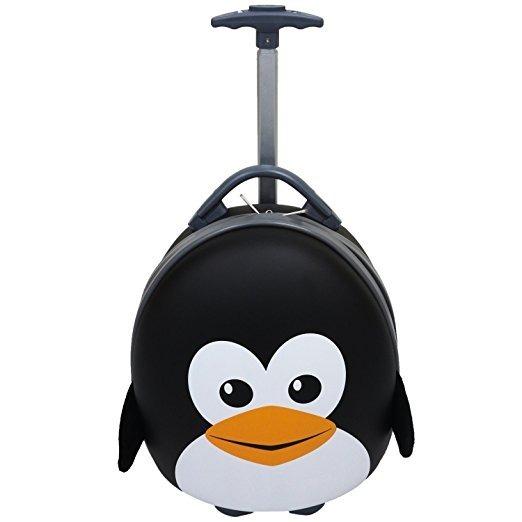 Maleta Para Niños De Pinguino Color Negro Marca Emmzoe. - $ 3,153.00 ...