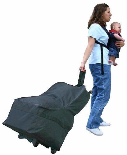 Maleta para transportar tu porta bebe silla de carro 1 en mercado libre - Carro para playa transportar sillas ...