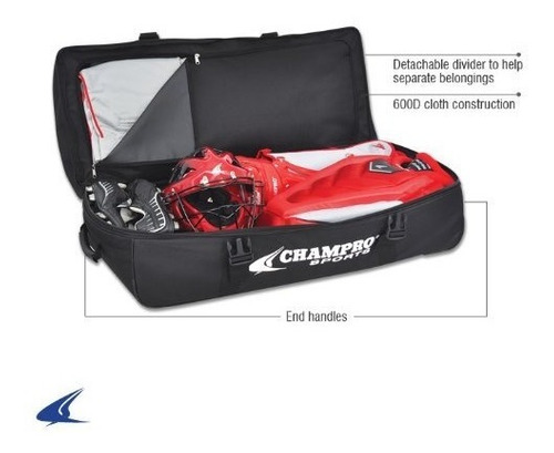 maleta para umpire catcher champro sports® ultimate