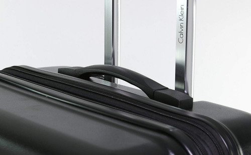 maleta para viaje 28 pulgadas negra resistent calvin klein