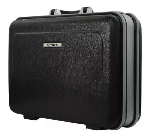 maleta pequena executiva em abs, com segredo, yins- ys05001