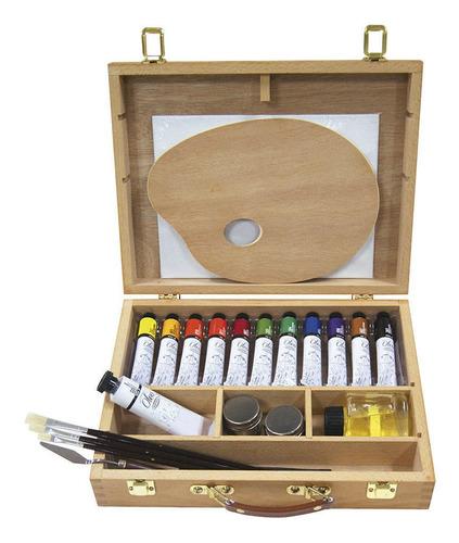 maleta pintura al óleo artel