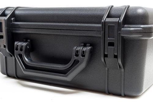 maleta plástica forfly cases m3 espuma micro serrilhada