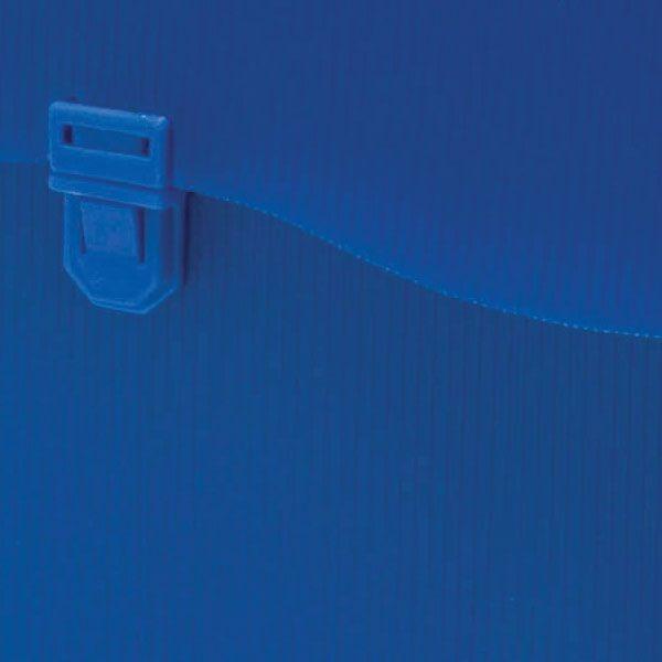 Maleta Polionda Com Alca Azul C 10 Pastas Suspensas Polycart - R  80 ... 240be04bdf