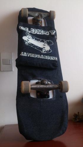 maleta porta skate clumsy