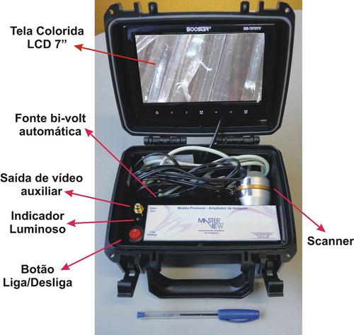maleta premium para análise capilar - analisador capilar