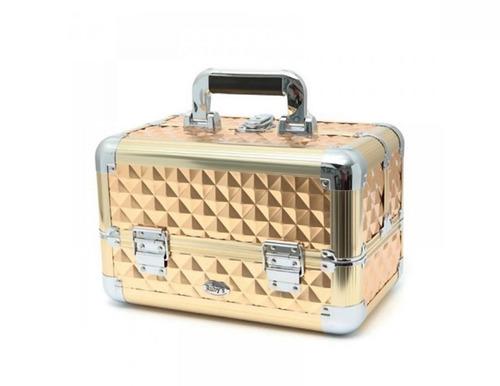maleta pro maquiagem joias manicure cores rubys fs1171mc