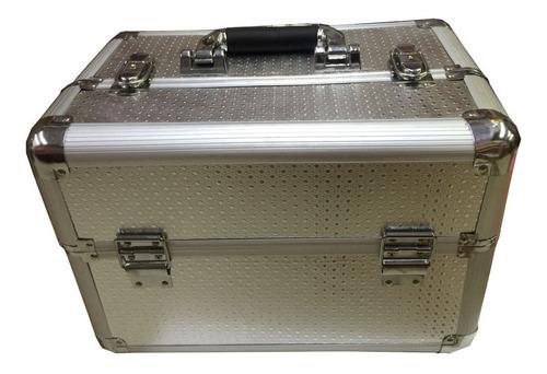 maleta profissional gigante organizador maquiagem