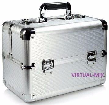 maleta profissional maquiagem extra grande + ruby rose