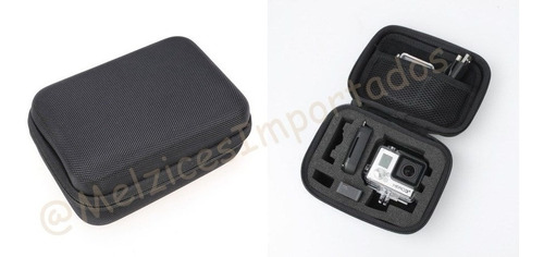 maleta proteção anti-impacto pequena para gopro e similares
