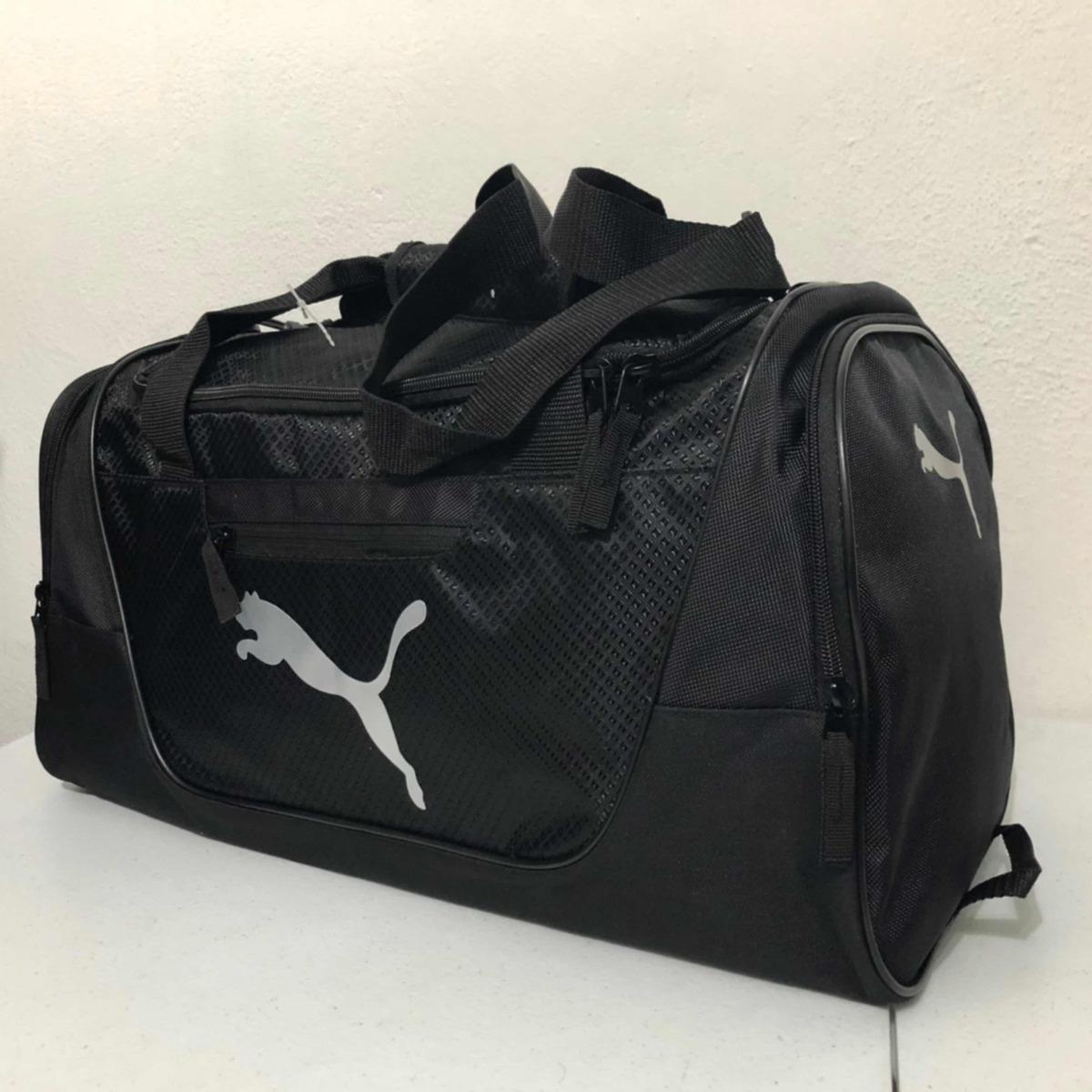 d3433f7dc Maleta Puma Contender 3 Black Gym Viaje 100% Original - $ 799.00 en ...