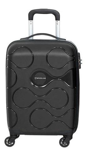 maleta rígida atlas spinner 55/20 negro cabina saxoline