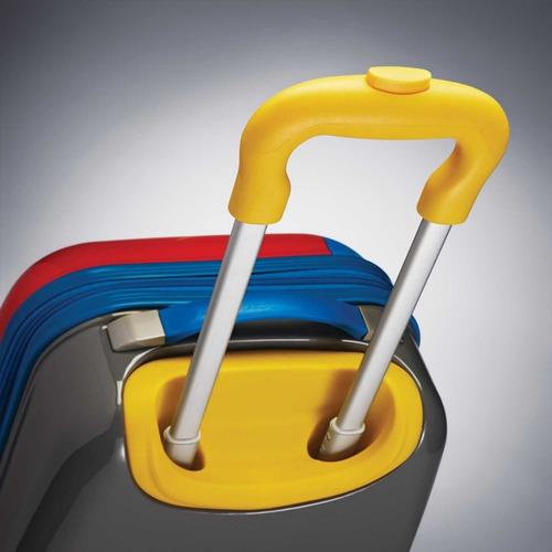 maleta rigida disney cars american tourister niño 18 pulg