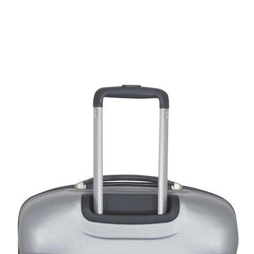 maleta rígida saxoline tornado spinner 77/28 silver l
