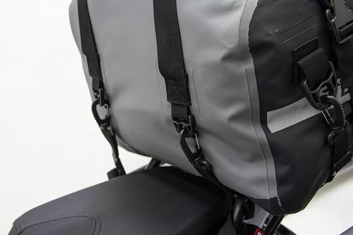 maleta superior terek dry bag 30 lt gris