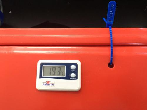 maleta térmica 15l - vacinas, sangue, m. biologico
