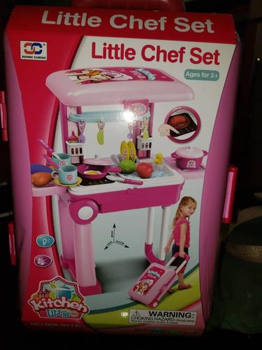 maleta tipo cocina para niñas