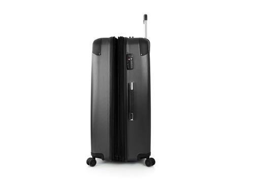 maleta viaje heys velocity negra grande rígida