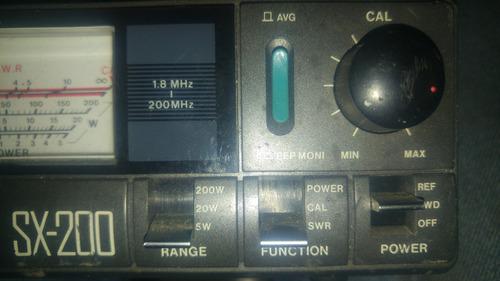 maleta watimetro medidor roe 3 equipos y accesorios