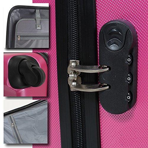 maletas de viaje anti-golpes set 3 maletas