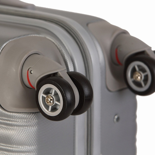 maletas de viaje con 4 ruedas 61 cm rosado