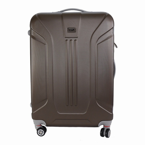 maletas de viaje con 4 ruedas de 61 cm marron