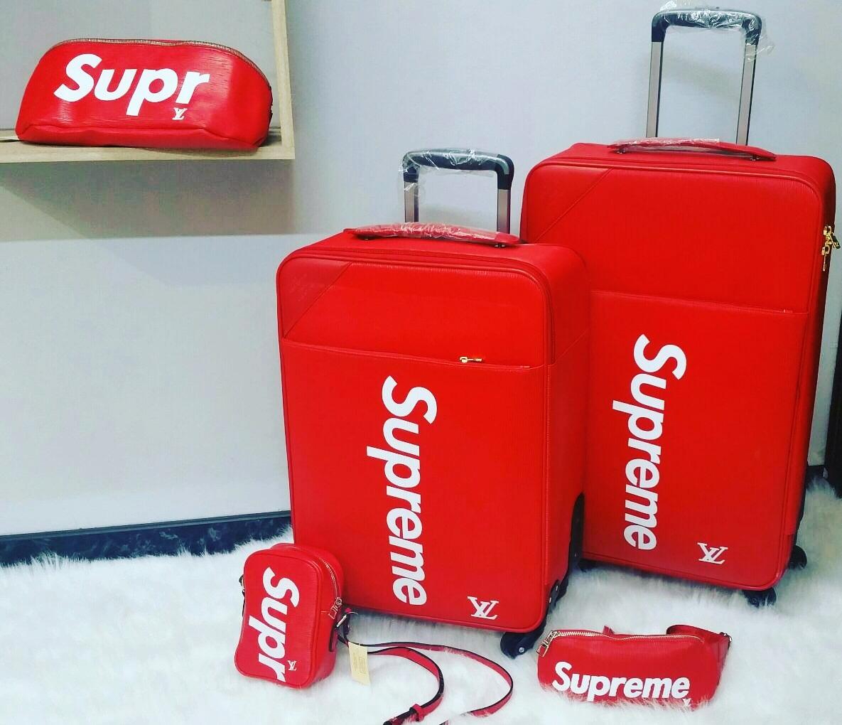 04b449523 Maletas De Viaje Louis Vuitton Supreme - $ 600.000 en Mercado Libre