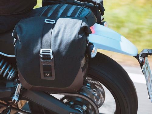 maletas laterales 13.5 lt sw motech legend para moto