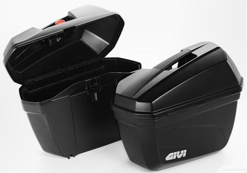 maletas laterales alforjas maleteros givi e22 originales