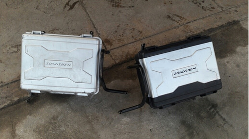 maletas laterales / alforjas para zongshen rx3