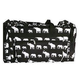 ee7abd141669 Maletas Nd22-e-bw Black White Elephant Gym