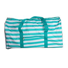 43d1fdd67323 Maletas Ndn22-23-to Turquoise White Stripe
