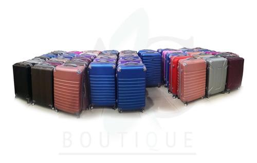 maletas rígidas set para viajes colores varios envio gratis