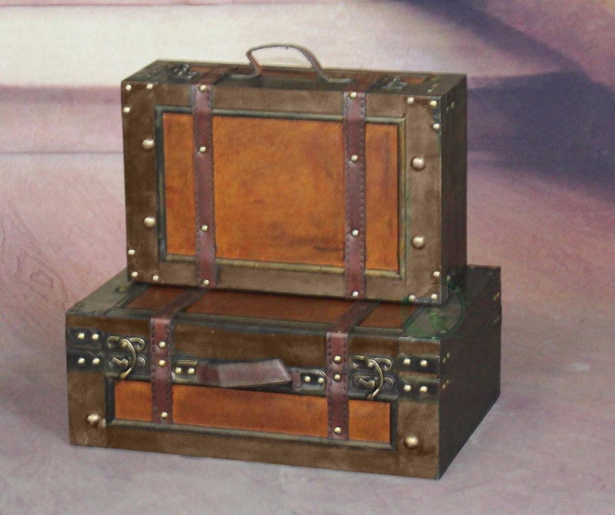 Maletas tipo antiguas petacas maletero decoracion kit - Comprar maletas antiguas decoracion ...
