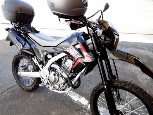 maletero moto coocase vivo 28 litros baul con luz led s28-bs