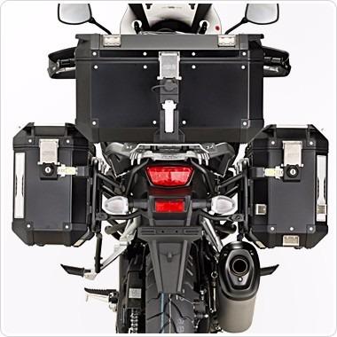 78014247e6d maletero para moto baúl givi trekker outback 58 lts negro · maletero para  moto