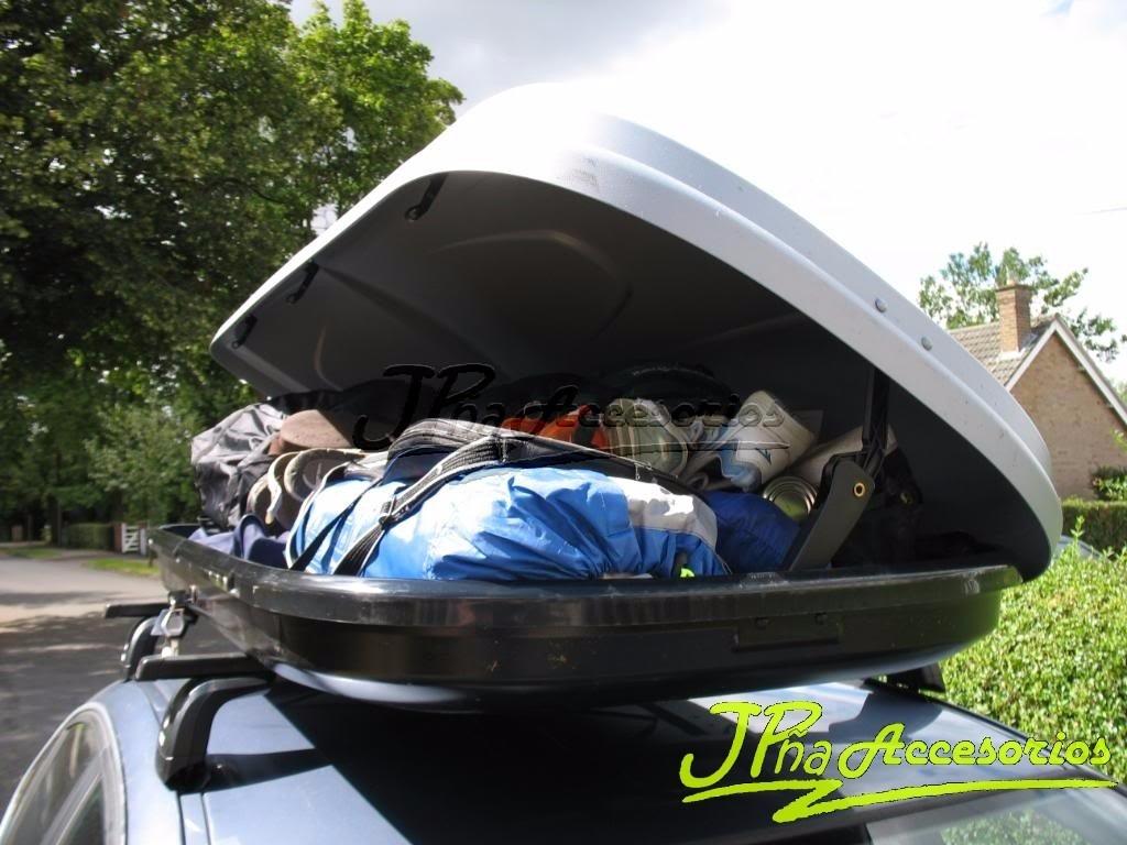 Maletero porta equipaje rigido baul de techo for Maletero techo coche