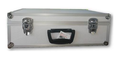 maletin aluminio 33 con llaves caja de herramienta notebook