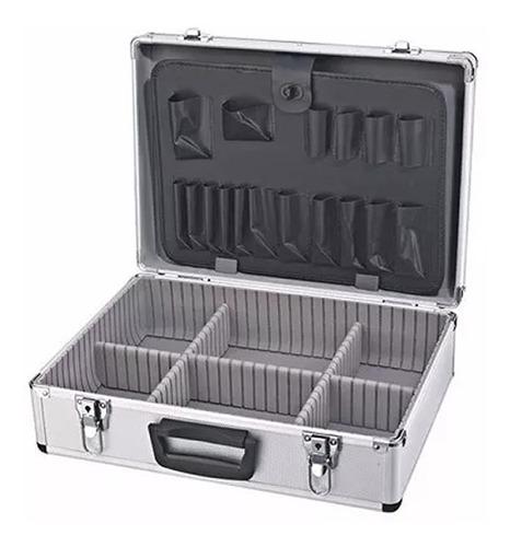 maletin aluminio reforzado valija herramienta llave division