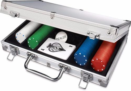 maletin aluminio set poker y regalo con envio incluido