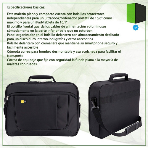 maletín bolso notebook