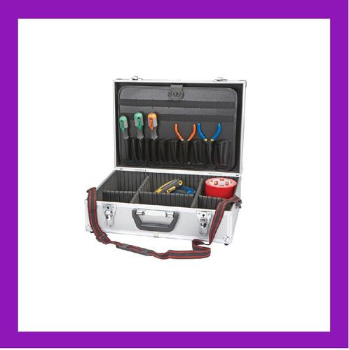 maletin caja de aluminio medidas 46x15 x33  centimetros
